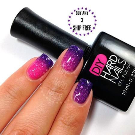 Best Temperature Color Changing UV Soak Off Gel Nail Polish – Pink ...
