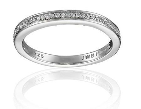 Size-11.25 G-H,I2-I3 1//20 cttw, Diamond Wedding Band in 14K Yellow Gold